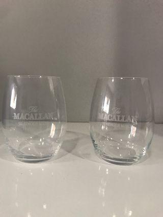 2 vasos Whisky Macallan