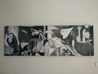 Cuadro, Réplica del famoso Guernica de Picasso.