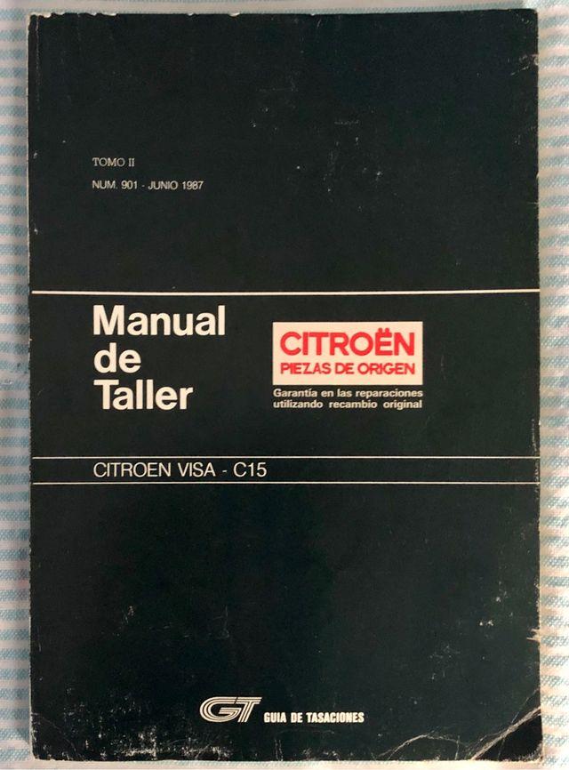 Manual De Taller Citroen C15 Y Visa De Segunda Mano Por 15