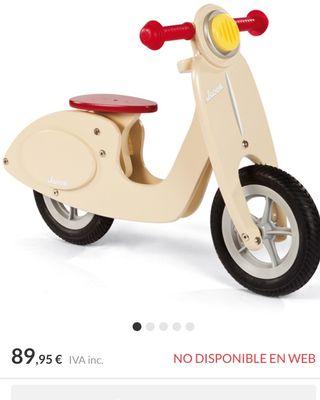 Scooter de madera