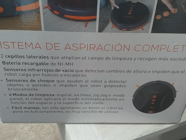 Robot aspiradora nuevo