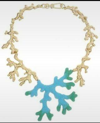 Collar coral Bimba y Lola