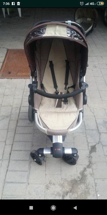 carro-trio bebé nurse Jane intrepid