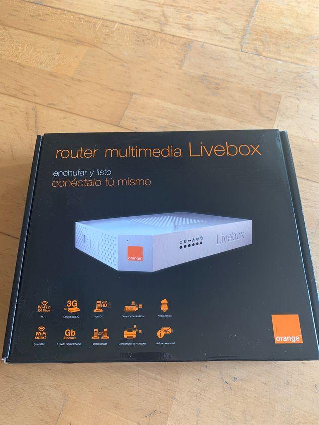 Router multumedia Livebox Orange Nuevo