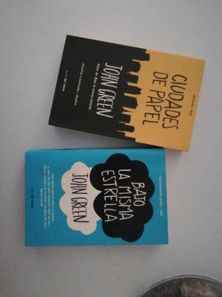 Novelas juveniles del autor John Green