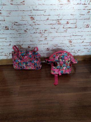 Mochila porta bebés + bolsa para carrito Tuc-Tuc
