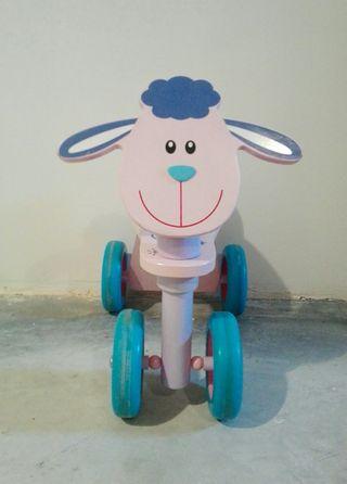 Triciclo Oveja Madera