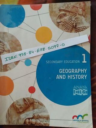 GEOGRAPHY 1 °ESO ANAYA