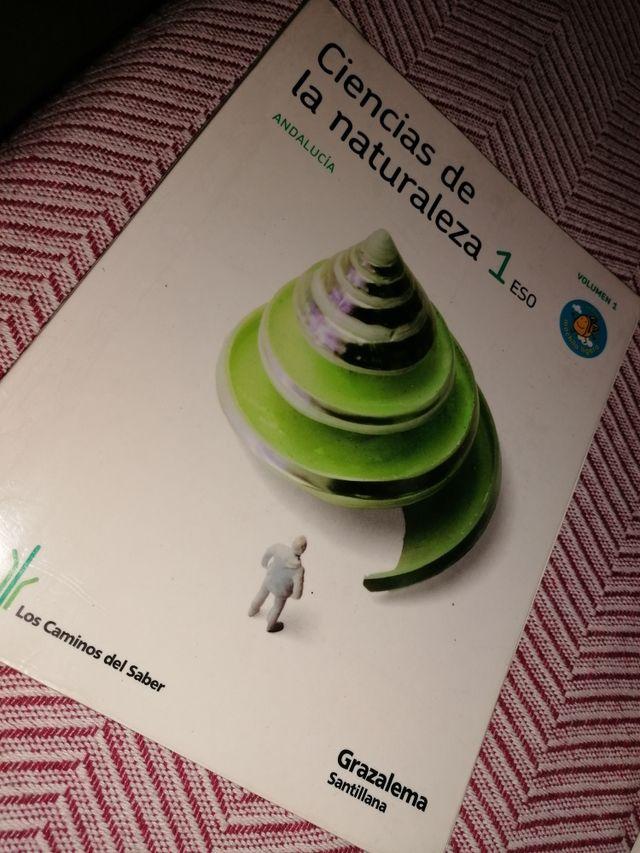 Libros de ciencias de la naturaleza de 1° de ESO