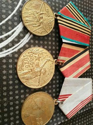 Medallas militares rusas
