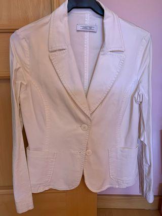 Americana blanca Zara