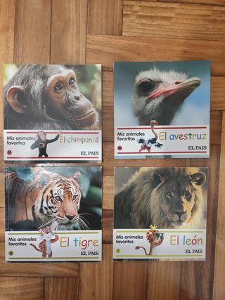 Colección infantil 35libros:Mis Animales Favoritos