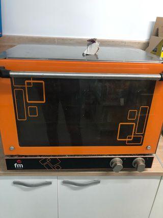 Horno eléctrico panadería