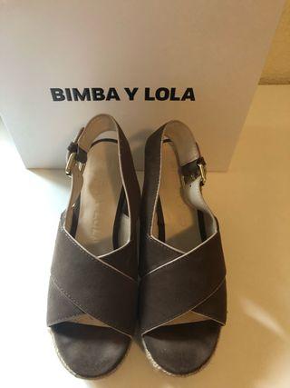 Sandalia de esparto Bimba y Lila