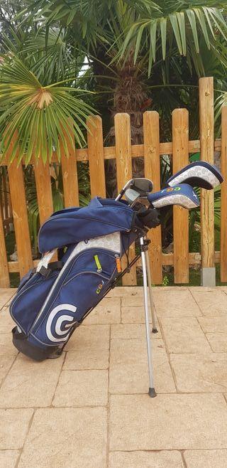 Juego palos golf niños