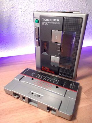 Cassette TOSHIBA stereo KT-AS1