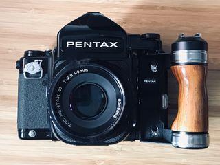 PENTAX 6x7 Camera analógica formato medio