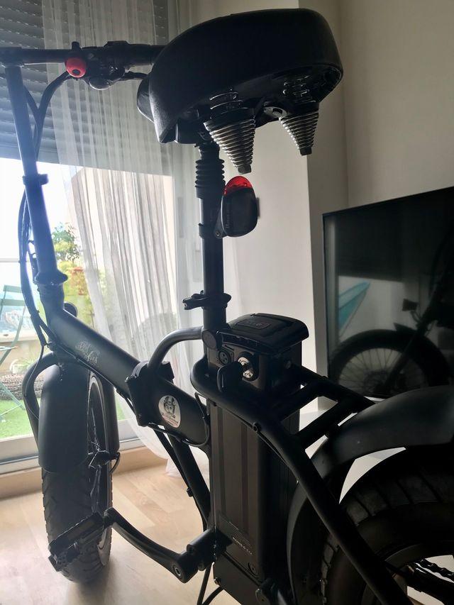 "Bicicleta eléctrica plegable CAFE RACER 20"""