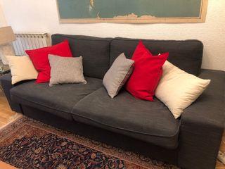 Sofa de 3 plazas Kivik gris antracita