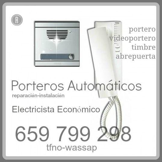 REPARACIONES ELECTRICAS Y MONTAJES DE ILUMINACION