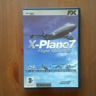 X-PLANE 7 FLIGHT SIMULATOR PC