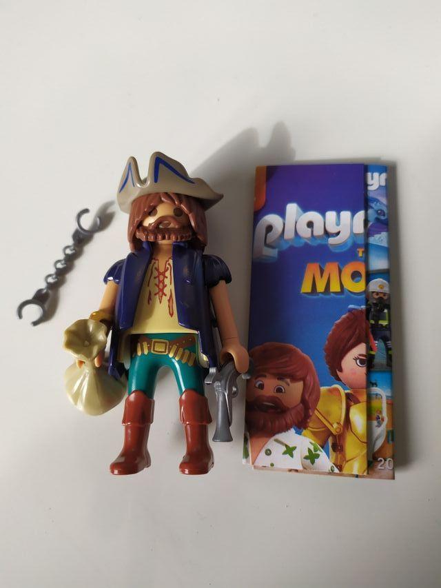 playmobil pirata. nuevo