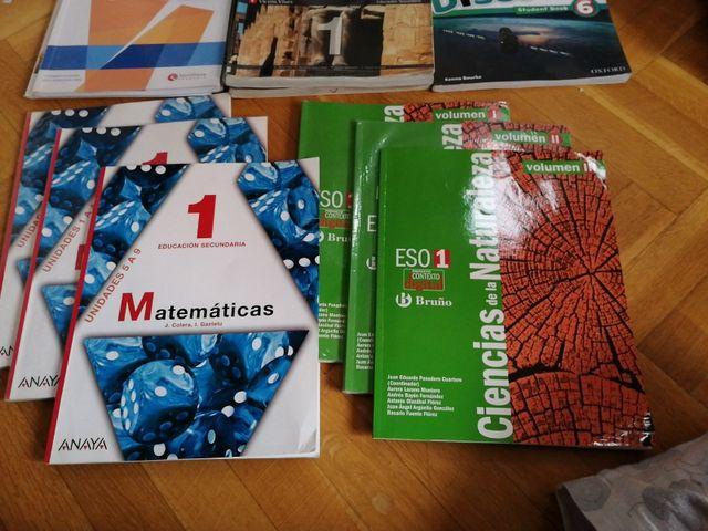 Libros Matemáticas y Ciencias de la Naturaleza.