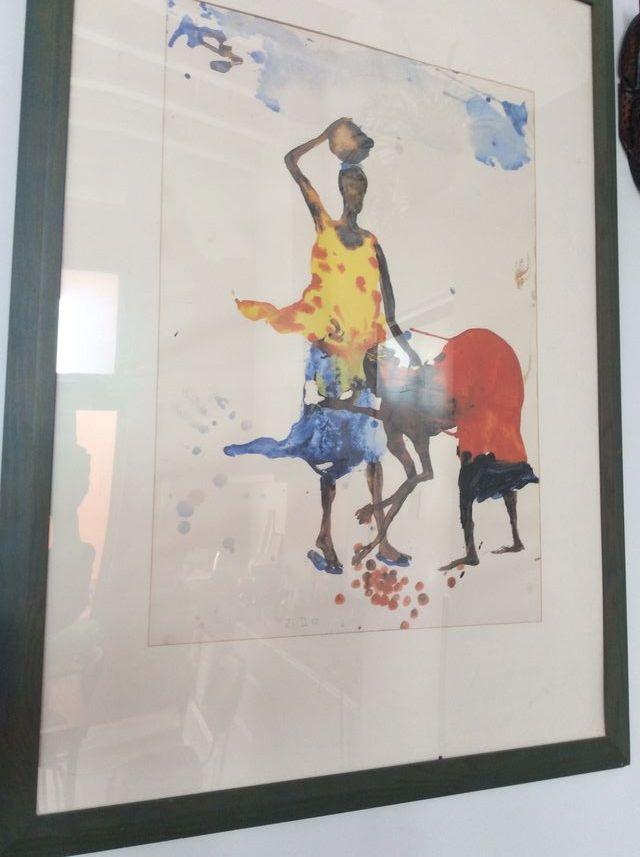 Pintura Africana + Cuadro