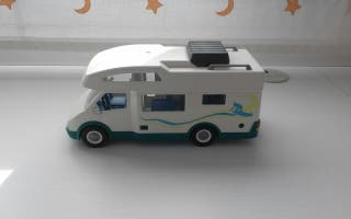 auto caravana de play mobil