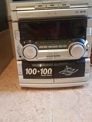 Minicadena Philips de música