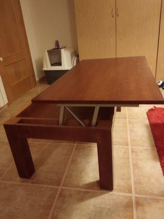 mesa centro abatible