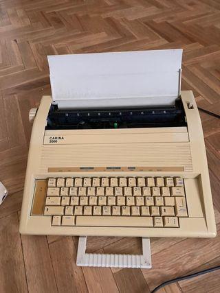Maquina de escribir electrica años 90
