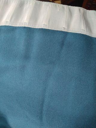 Pata de cortina, tela