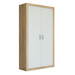 armario 2 puertas color blanco