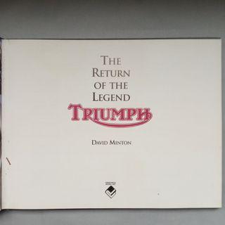Triumph: The return of the legend