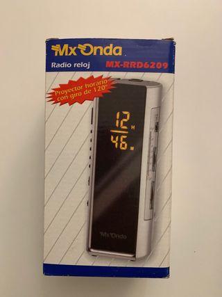 Radio reloj despertador Mx Onda nuevo.