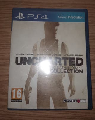 Juego PS4. Uncharted. The Nathan Drake Collection