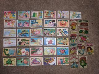 Cromos Bollycao Pegui-tarjetas + Cromos Bimbo