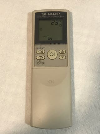Mando aire acondicionado Sharp CRMC-A569JBEZ