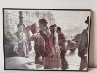 """Cuadro """"El beso frente al Hotel de Ville"""""""