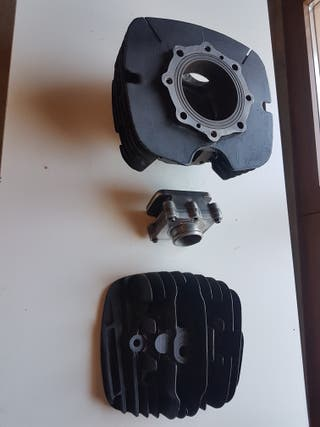 Cilindro culata caja láminas bultaco MK12