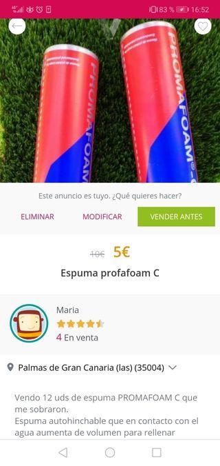 espuma promafoam