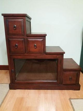 mueble esquinera de madera
