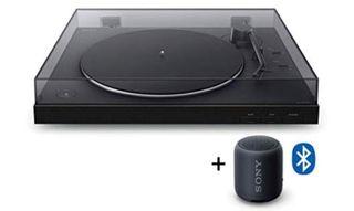 Tocadiscos + Altavoz Sony Bluetooth