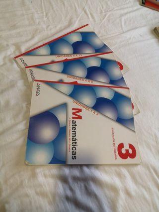 Libro Matemáticas 3°ESO Anaya