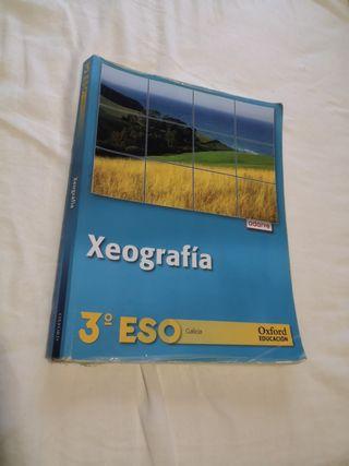 Libro Xeografía 3°ESO Oxford