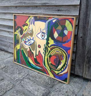 ENVIO-c cuadro abstracto diseño