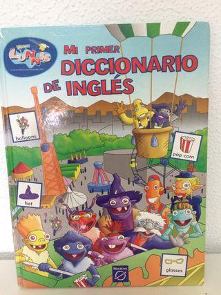 Diccionario de inglés para niños de Lunnis .