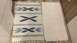 2 alfombras lavables