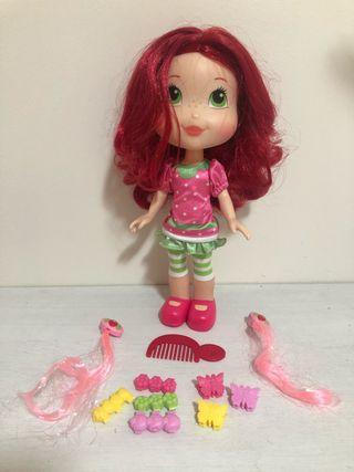 Muñeca tarta de fresa peinados